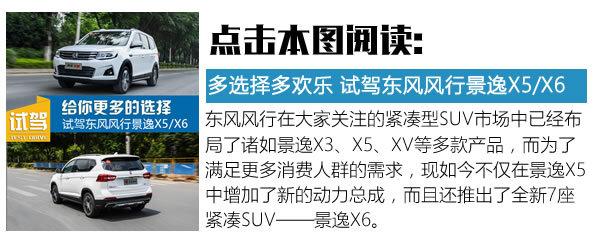 """人民的""""X""""系列 全新东风风行景逸X5对比X6-图7"""