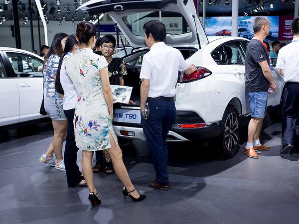东风启辰T90智尚大屏版风靡重庆车展-图5