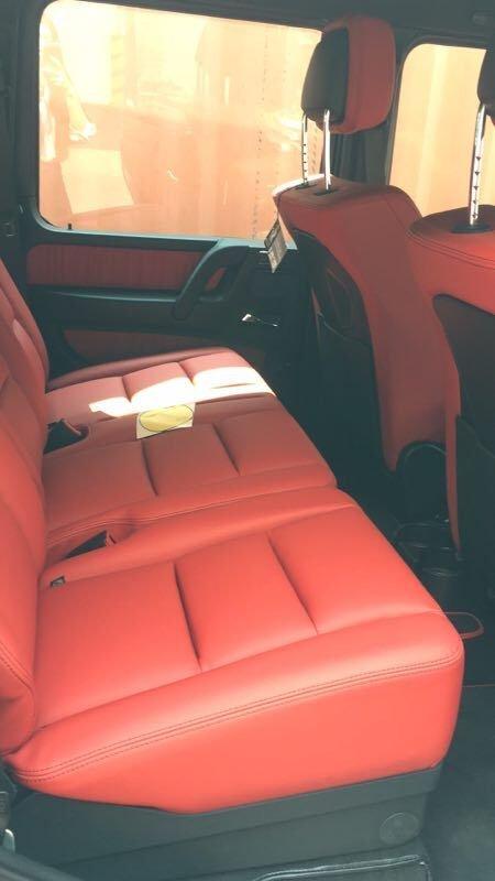 2017款奔驰G500 自适应减震器轻松行天下-图12