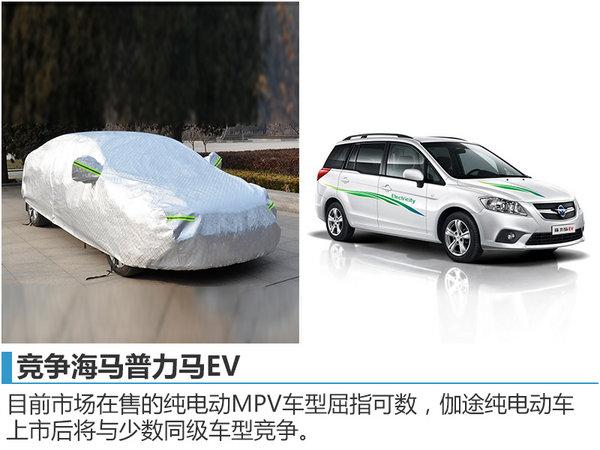 福田纯电动MPV将上市 竞争海马普力马EV-图2