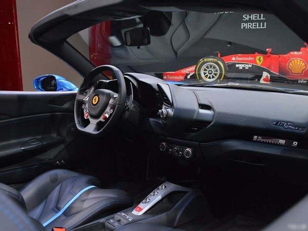 法拉利488动感优雅 豪华超跑不只是拉风-图5