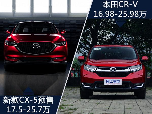 长安马自达新CX-5预售价曝光 17.5-25.7万元-图3