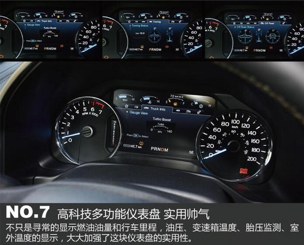 2017款福特F150白金版 盘点十大突出亮点-图10
