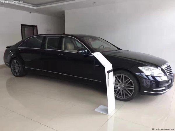 创】近日获悉,奔驰巴博斯50S加长版现车到店,5.98米订制豪车