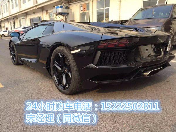 兰博基尼LP700超跑 大牛碾压鬼魅黑战车-图5