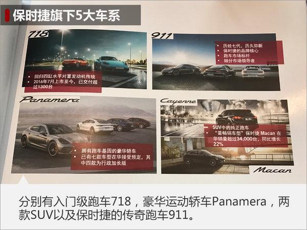 保时捷2017销量将超七万 3款新车将发布-图3