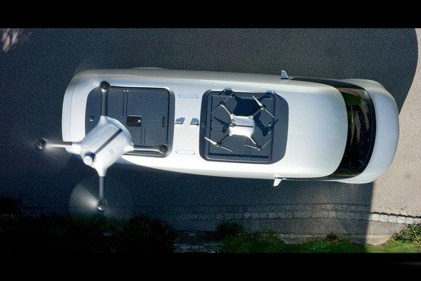 奔驰Vision Van概念车 配无人机送快递-图7