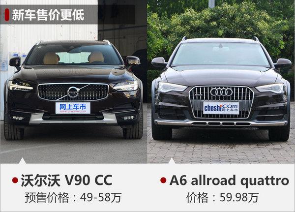 沃尔沃V90 CC预售49-58万元 下月上市-图7