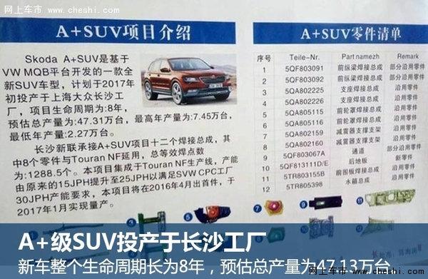 斯柯达新国产SUV年内发布 预计明年上市-图2