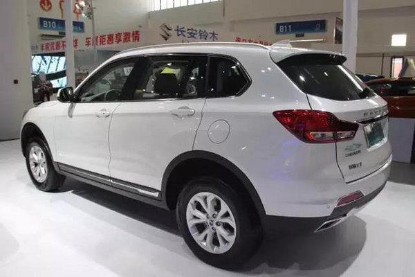 """""""欧派大SUV""""汉腾X7海南国际车展上市-图2"""
