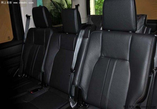 2014款路虎发现四座椅空间高清图片