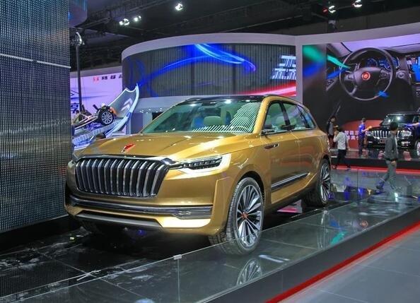 红旗将推首款中型SUV 红旗HS5预明年发布-图1