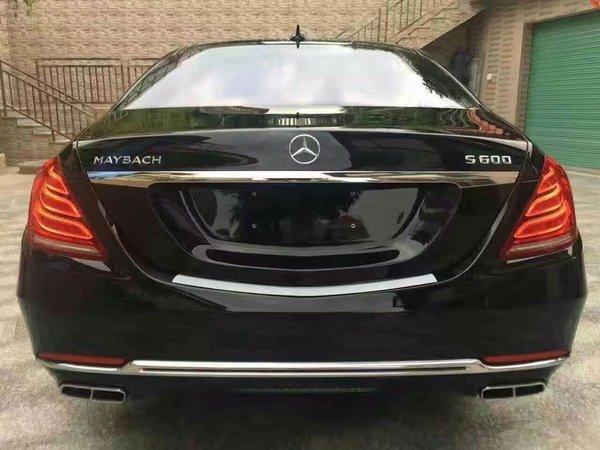 16款奔驰迈巴赫S600 顶级轿车价格320万