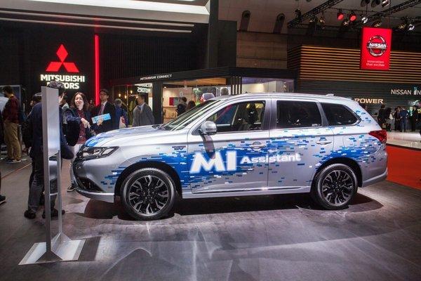 东京车展火热开幕,三菱汽车发布全球品牌战略及新款纯电动概念SUV——e-Evolution-图7