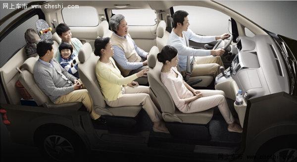 座自由大空间的NISSAN NV200-郑州日产CDV车型限时降4000元活高清图片