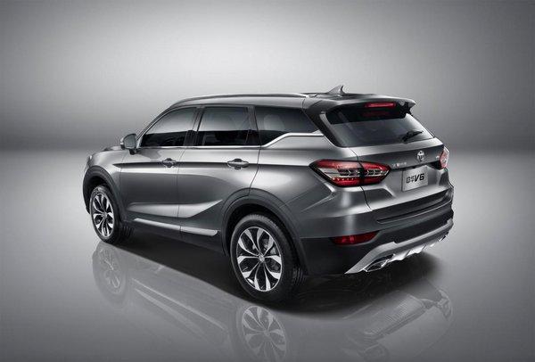颠覆格局宽体智联SUV华晨中华V6全球首发-图5