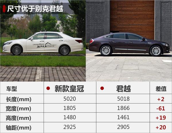 一汽丰田新皇冠撤销2.5L车型 装备晋级-图4