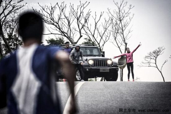 jeep打造中国最长全地形赛道4x4接力赛高清图片