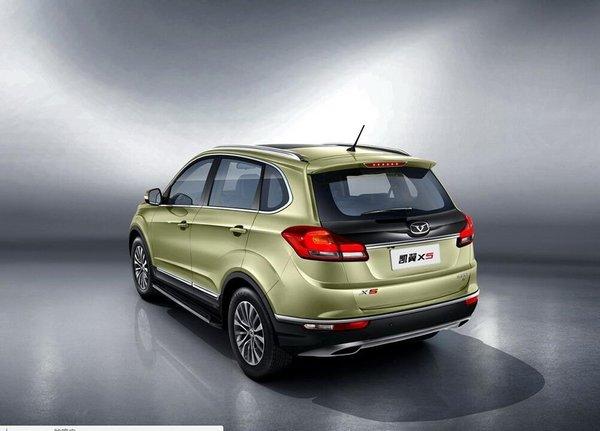 凯翼X5官图发布预9月上市 定位紧凑型SUV-图4