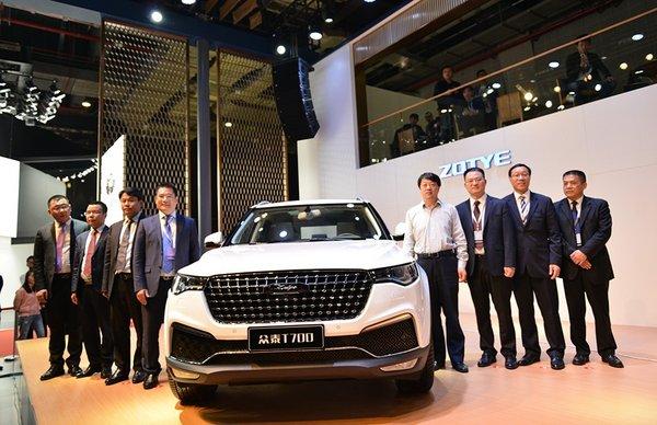 13款车型发布众泰汽车2017上海车展纪实-图3