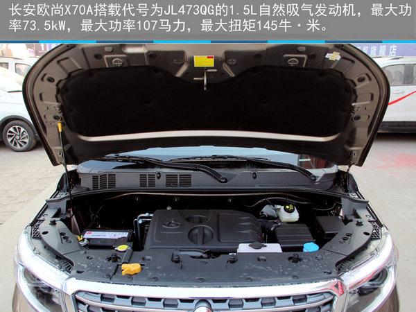 硬派新7座SUV—石家庄实拍长安欧尚X70A-图21
