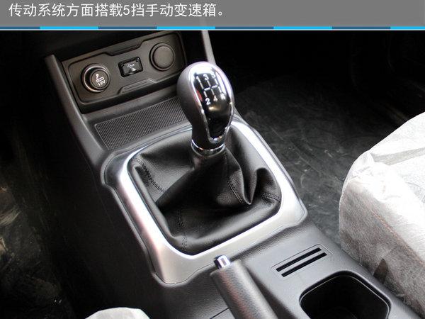 硬派新7座SUV—石家庄实拍长安欧尚X70A-图22