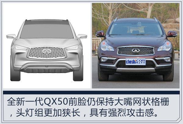 英菲尼迪全新一代QX50将国产 预计33万起售-图2
