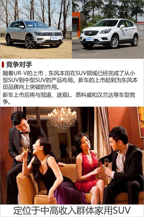 东风本田UR-V正式上市 售价xxx-xxx万元-图2