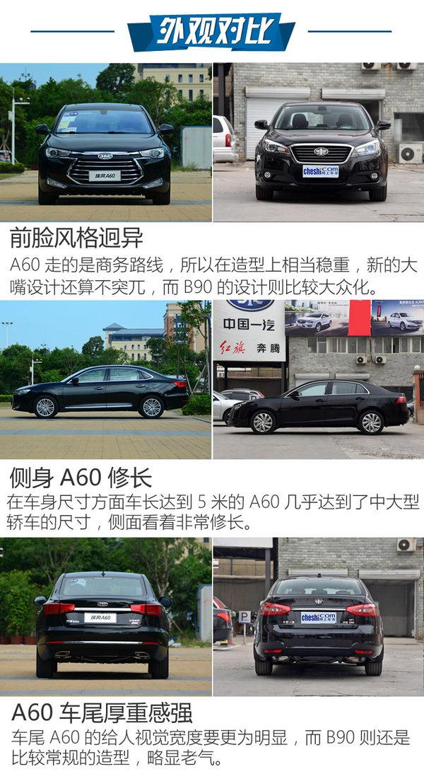 谁对得起旗舰的称谓 江淮A60对比奔腾B90-图4