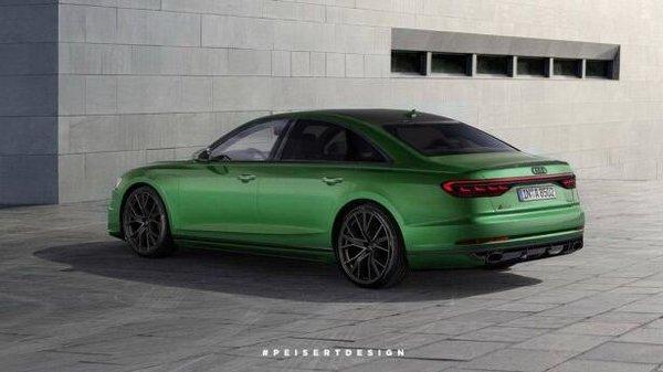 全新奥迪RS 8假想图曝光 将搭载550马力-图2