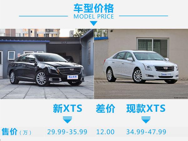 三十万买车有100万的效果 凯迪拉克XTS新老对比-图1