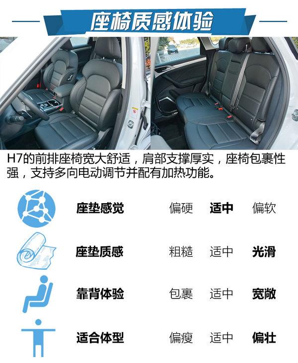 高端自主SUV标杆 哈弗红标H7试驾体验-图6