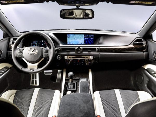 雷克萨斯2016款GS F官图发布 1月底亮相_雷克萨斯GS_进口新车-网上车市