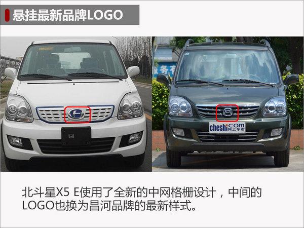 """昌河将推北斗星X5电动版 悬挂""""全新""""LOGO-图1"""