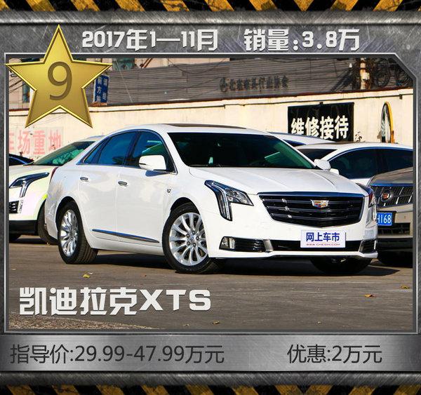 最热销10款豪华品牌轿车!11月最高优惠达7折-图13