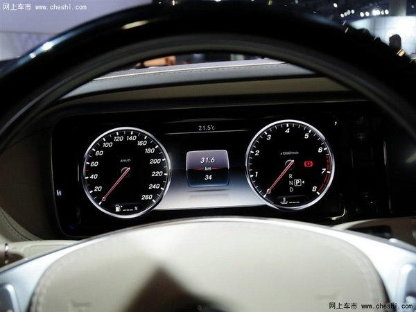 奔驰迈巴赫S600内饰中控-奔驰迈巴赫S600上市 豪惠盛宴震撼来袭