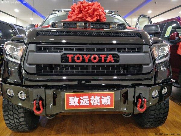17款丰田坦途最新报价 美式沙漠皮卡悍将-图1