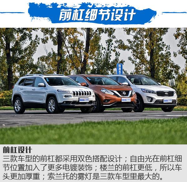 三国鼎立之SUV横评 自由光/楼兰/索兰托对比-图5