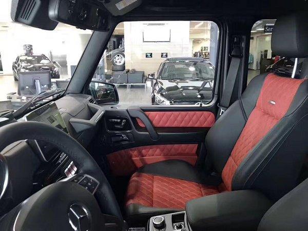 17款墨版奔驰G500 4X4提速高手牛逼配置-图4