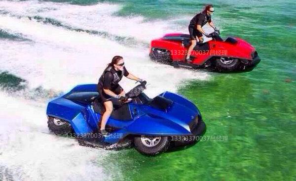 吉布斯水陆两用 两栖越野四轮摩托车钢管高清图片