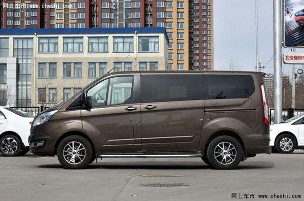 福特途睿欧自动挡今上市 竞争GL8商旅车高清图片