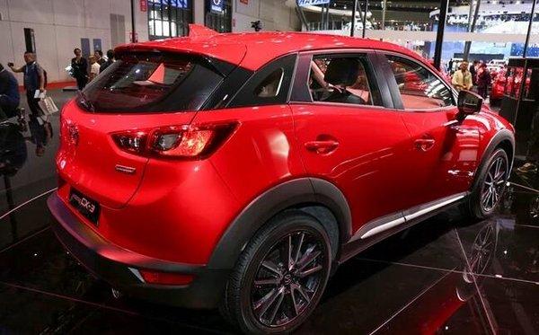 进口马自达CX-3 年底以进口引入中国销售-图7