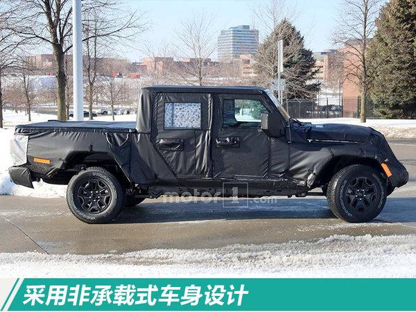 Jeep将推全新皮卡 命名爬行者/年底正式亮相-图2