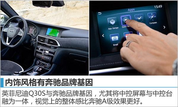 英菲尼迪Q30运动版将入华 搭2.0T发动机-图5