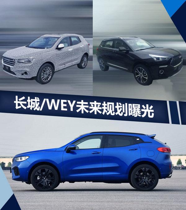 长城/WEY加速产品投放 将连推7款新SUV车型-图1