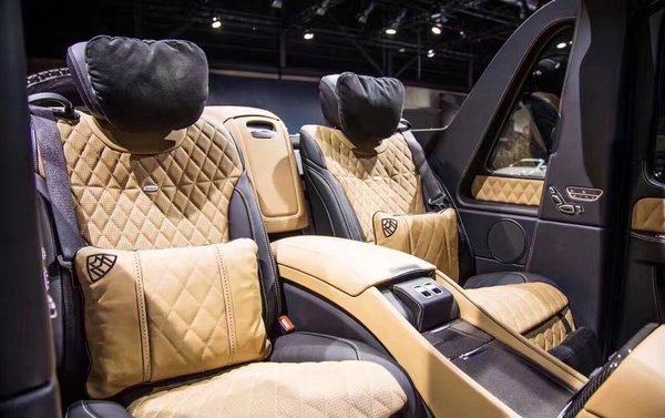 奔驰迈巴赫G650全球99台限量 现车高清拍-图7