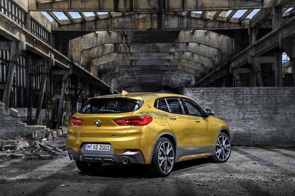 BMW X家族迎来新成员 全新BMW X2亮相-图7