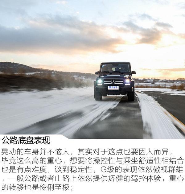 勇敢坚毅无出其右 冰雪试驾2017款奔驰G500-图8