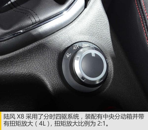 身材魁梧的全能壮汉 陆风X8广州车展实拍-图7