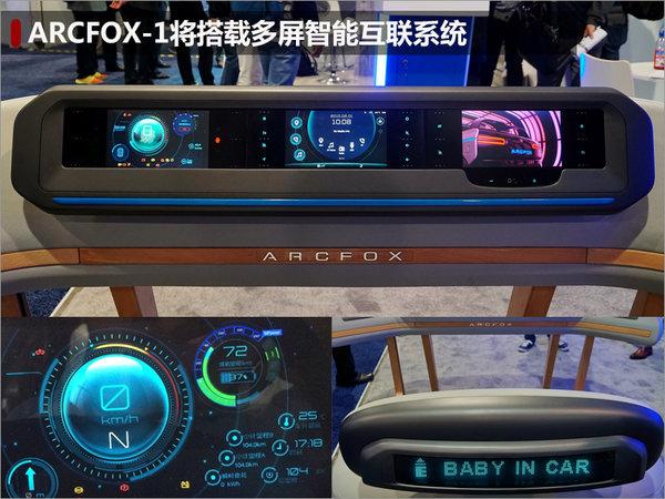 北汽ARCFOX-1量产版将上市 竞争大众up!-图4